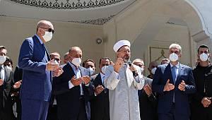 Şehriban Hatun Camii ibadete açıldı.