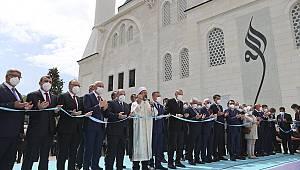 Uzun Mehmet Camii, ibadete açıldı.