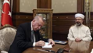 Cumhurbaşkanı Erdoğan dan TDV'ye kurban bağışı