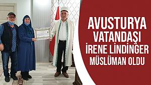 İrene Lindinger Müslüman oldu