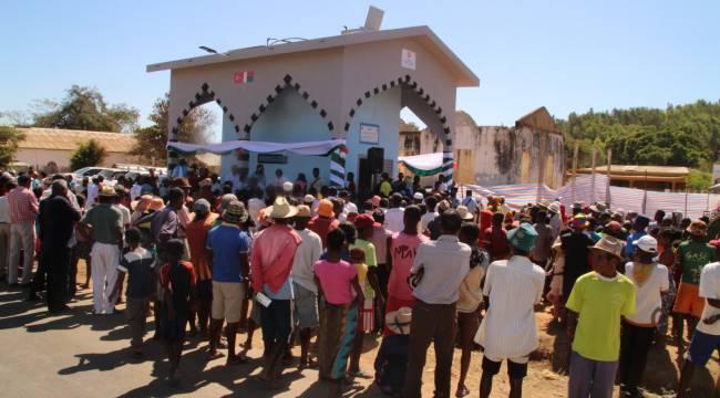 TDV Madagaskar'da bölge halkına umut oldu
