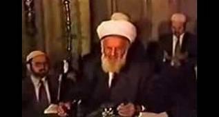 Yaşayan Tarih Gönenli mehmet efendi dua