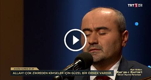 Kur'an-ı Kerim'i Güzel Okuma Yarışması  Mustafa Çolakoğlu