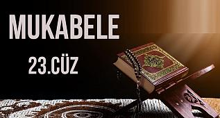 Yirmi Üçüncü Cüz Okuyan: Muhammet Mansur Sağır